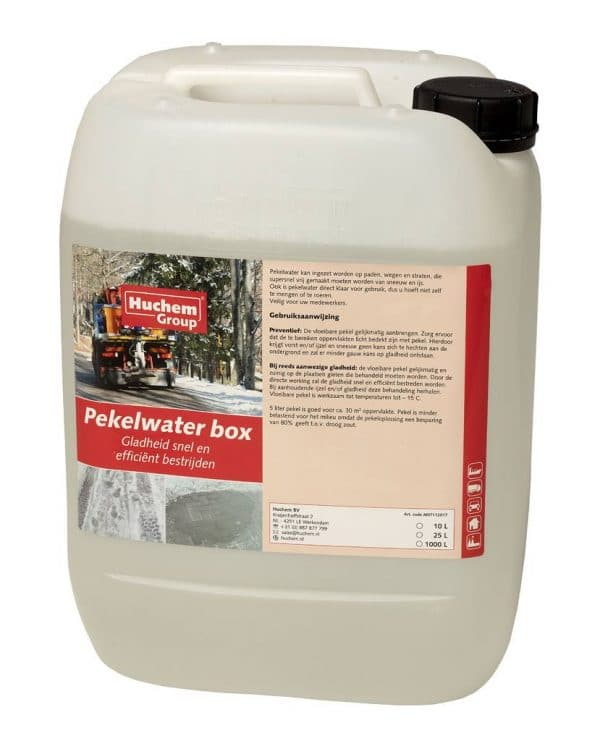 Pekelwater can 10L