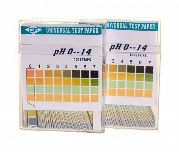 pH test strookjes