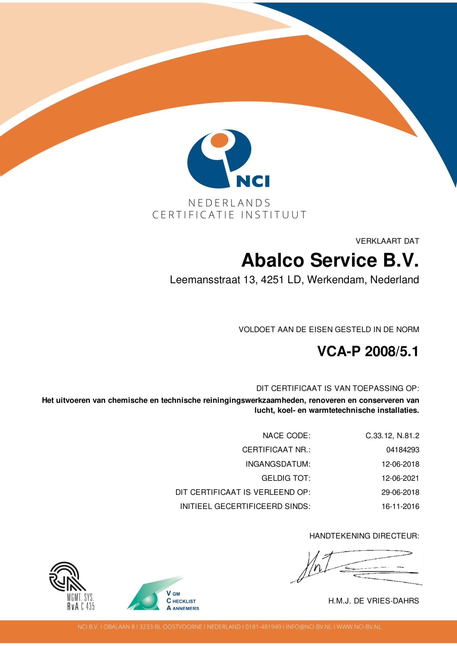 VCA-P 2008/5.1