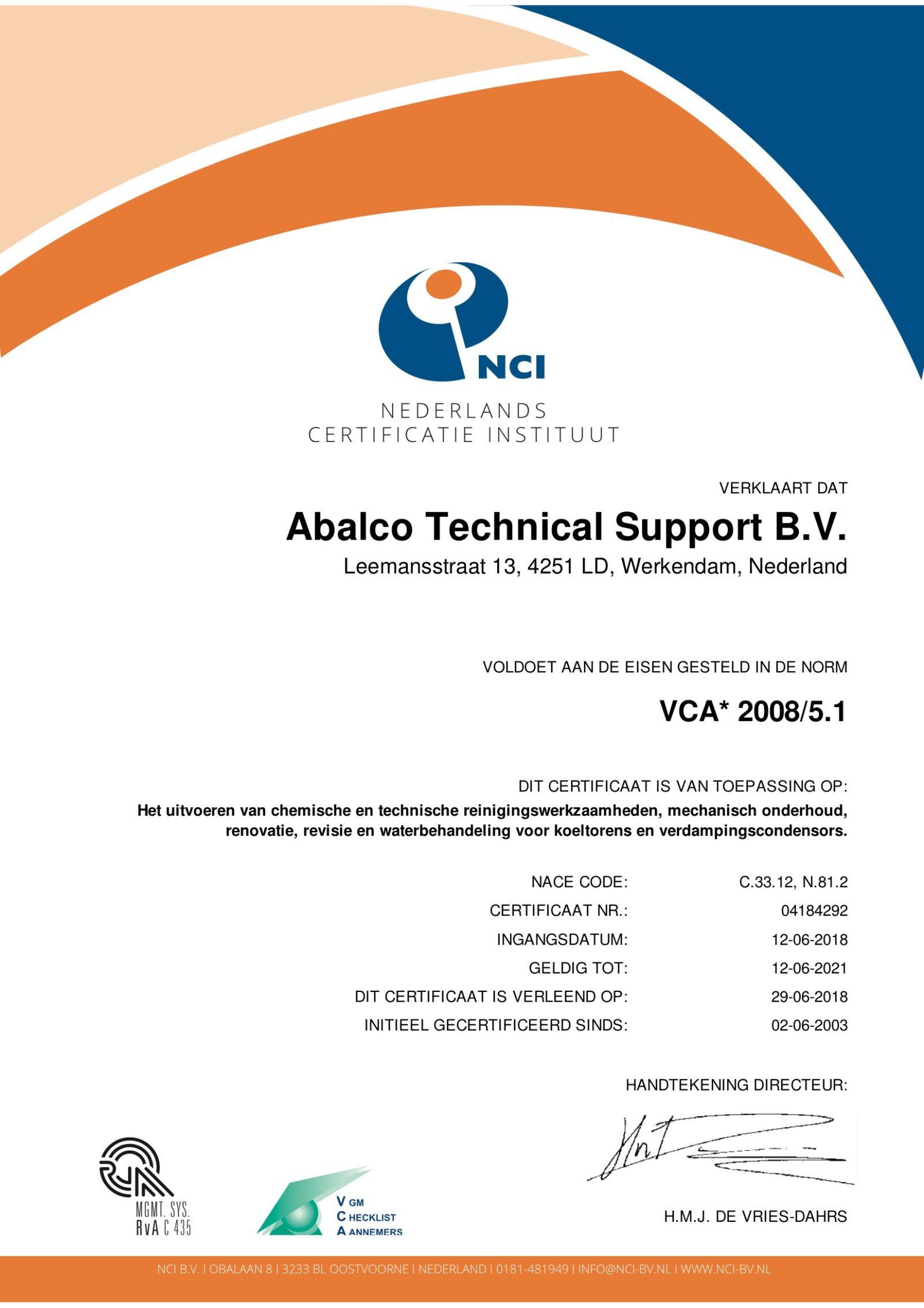 VCA1 2008/5.1