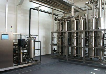 Een nieuwe waterbehandelingsinstallatie geleverd door Abalco